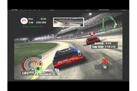 NASCAR 06 Total Team Control Intro First Race 24 Car - YouTube