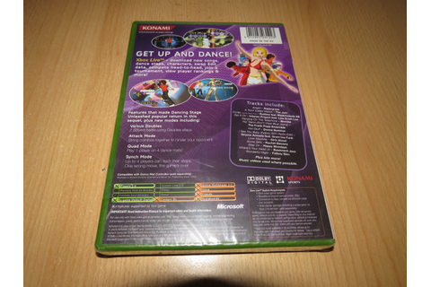 Dancing Stage Unleashed 2 (Xbox), , new sealed pal ...