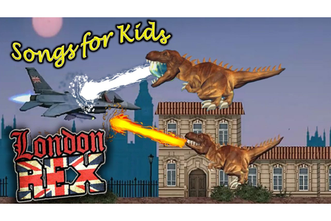 T REX GAMES FOR KIDS: London Rex- How to play and ...