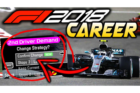 F1 2018 Game | 10 NEW THINGS WE WANT IN F1 2018 CAREER ...