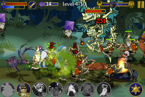 Legendary Wars iPhone game app review | AppSafari