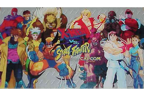 X-Men Vs. Street Fighter - Videogame by Capcom