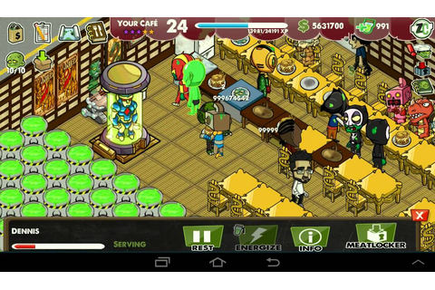 Zombie cafe hack and gameplay - YouTube