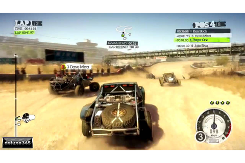Colin McRae: Dirt 2 Gameplay (PC HD) - YouTube
