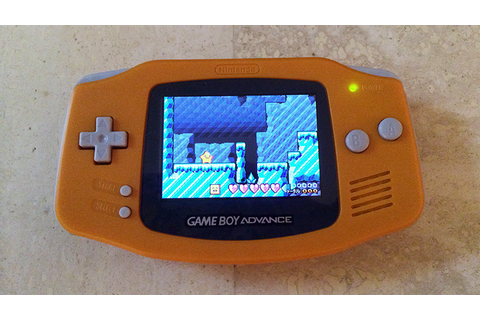 This Week's Purchase: Orange GameBoy Advance (with ...