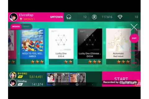 SuperStar SMTOWN - game play #1 - YouTube