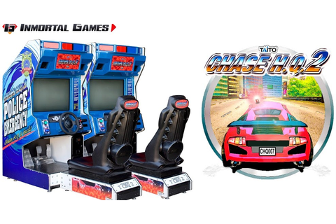 Taito Type X2 - Chase H.Q. 2 Arcade - Inmortal games