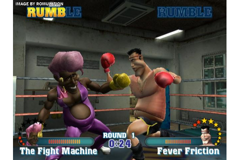 ready 2 rumble revolution usa wii-imars full game