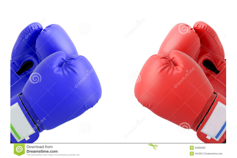 Fighting Boxing gloves stock photo. Image of ring, glove ...