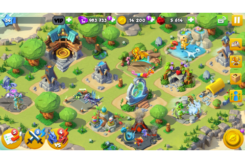 Breed, raise and train your dragons in Gameloft's Dragon ...