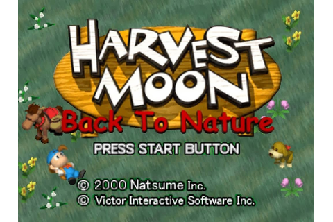 Harvest Moon Back to Nature PC Games | Premium Game