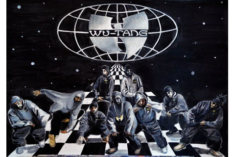 Wu Tang - The game of Chess\Oil | EveryVera Art ...