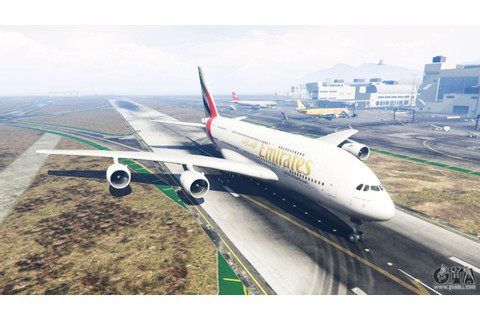 Airbus A380-800 for GTA 5