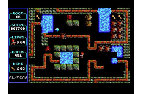 Paganitzu Part 1 : Romancing the rose (Dos game 1991 ...