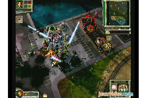 Gameplay Command & Conquer : Alerte Rouge 3 : Goldorak ...
