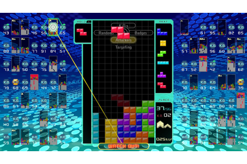 Tetris 99 (Switch eShop) News, Reviews, Trailer & Screenshots