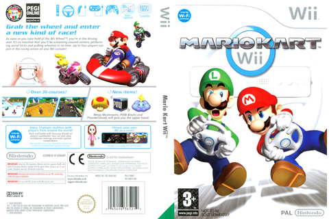 Games Covers: Mario Kart - Wii
