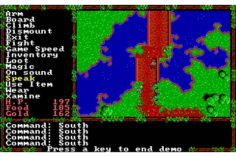 Download Questron 2 rpg for DOS (1988) - Abandonware DOS