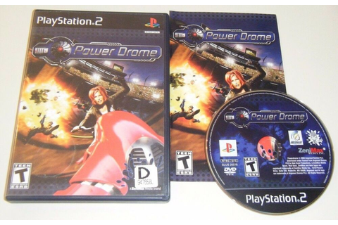 Powerdrome COMPLETE GAME for Playstation 2 PS2 VG POWER ...