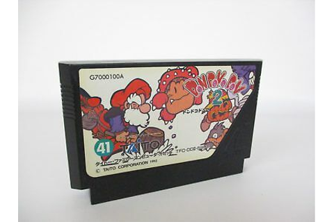 Famicom DON DOKO DON 2 Cartridge Only Nintendo Taito Game ...