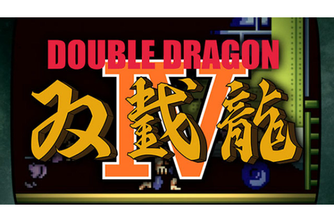 Double Dragon IV - PS4 Review | Chalgyr's Game Room