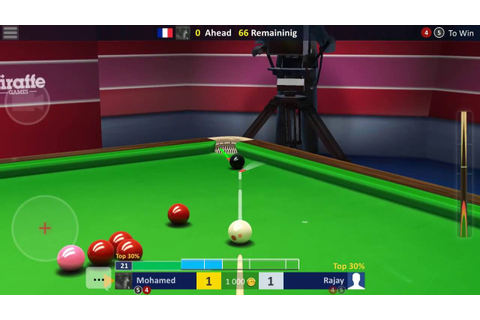 THE MOST REALISTIC SNOOKER GAME EVER!!! - YouTube