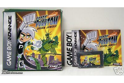 Danny Phantom: The Urban Jungle (Game Boy Advance) CIB ...