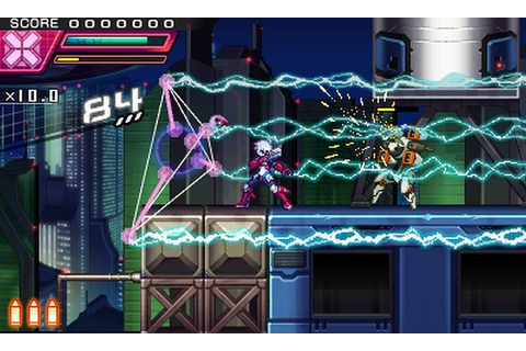 Azure Striker Gunvolt: Striker Pack Review | GamesReviews.com