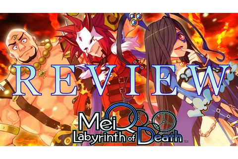 MeiQ: Labyrinth of Death – PlayStation Vita Review ...