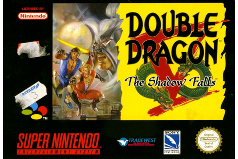 Double Dragon V: The Shadow Falls for SNES (1994) - MobyGames