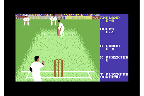 Graham Gooch World Class Cricket – 1991 Audiogenic - Games ...