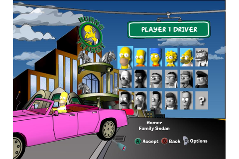 The Simpsons Road Rage ISO