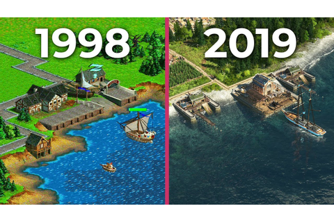 The Evolution of Anno – All Anno games from 1998 to 2019 ...