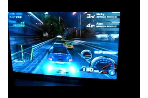Sega R-Tuned Ultimate Street Racing Arcade Game - Screen ...