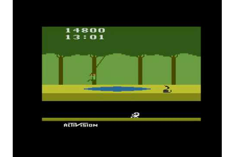 Pitfall Atari 2600 - YouTube