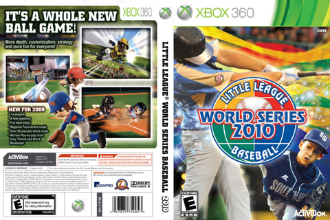 Games Covers: Little League World Series Baseball - Xbox 360