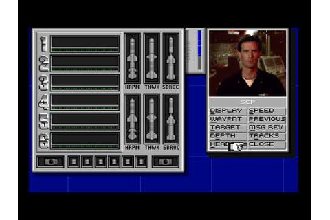 Retroplay: Episode 45: SSN 21: Seawolf (DOS) - YouTube