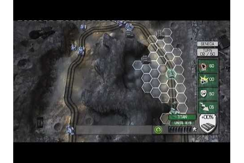 Military Madness: Nectaris, single player 1/2 [PS3] - YouTube