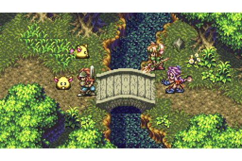 Secret Of Mana Sequel Seiken Densetsu 3 Shown Running On ...