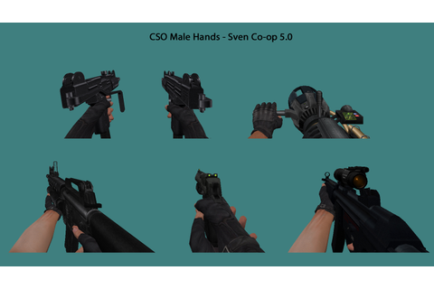 CSO Male Hands - Sven Co-op 5.0 Weapons addon - Mod DB