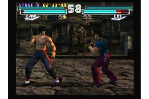 Tekken Tag Tournament (Playstation 2) Game Play - YouTube
