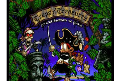 Amiga Game: Traps 'n' Treasures - Development version / 3 ...