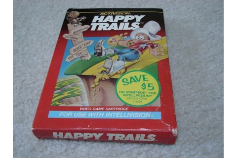 Happy Trails (Intellivision, 1983) for sale online | eBay