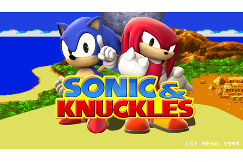 {SFM} Sonic and Knuckles Title Screen Remake by ...