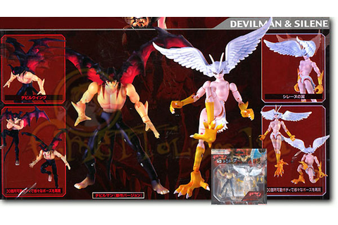 MICROMAN DEVILMAN & SILENE COMIC VERSION MA-SP02 (TAK58011 ...