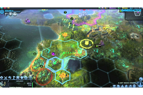 Civilization: Beyond Earth - Gameplay - YouTube