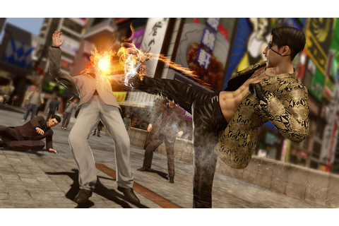 It's Time to Let the 'Yakuza' Games Punch Your Cold, Dead ...