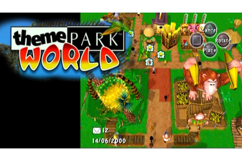 Theme Park World ... (PS2) - YouTube