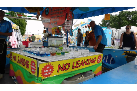 Gold Fish Carnival Game at Stoughton Fair - YouTube