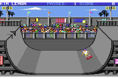 The Games We Played – Skate Or Die (C64) | OhGizmo!
